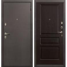 Входная дверь Лекс 1А Ясень шоколад (панель №93)