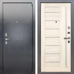 Входная стальная дверь Лекс 3 Барк Верджиния (Серый букле / Дуб беленый) панель №38