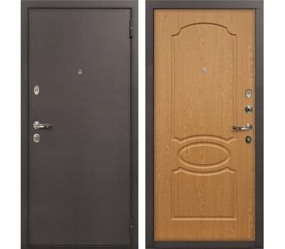 Входная стальная дверь Лекс 1А Дуб натуральный (панель №15)