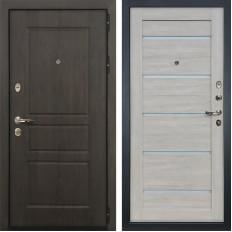 Входная дверь Лекс Сенатор Винорит Клеопатра-2 Ясень кремовый (панель №66)