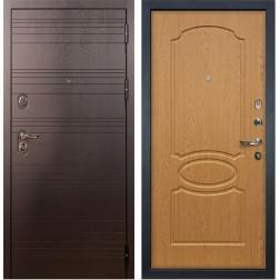 Входная стальная дверь Лекс Легион 3К Дуб натуральный (панель №15)