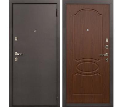 Входная стальная дверь Лекс 1А Береза мореная (панель №12)