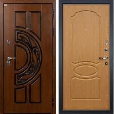 Входная дверь Лекс Спартак Cisa Дуб натуральный (панель №15)