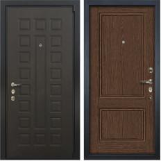 Входная дверь Лекс 4А Неаполь Mottura Энигма-1 Орех (панель №57)