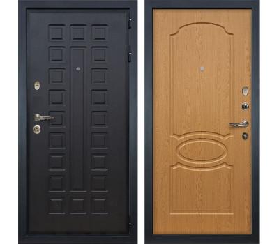 Входная металлическая дверь Лекс Гладиатор 3К Дуб натуральный (панель №15)