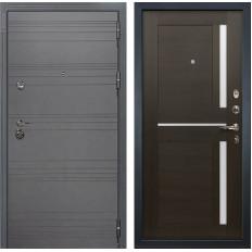 Входная дверь Лекс Сенатор 3К Софт графит / Баджио Венге (панель №50)