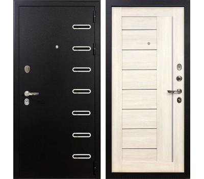 Входная металлическая дверь Лекс Витязь Верджиния Дуб беленый (панель №38)