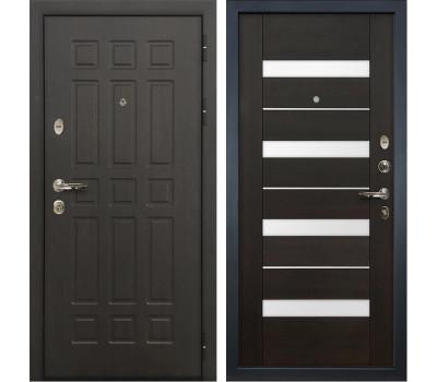 Входная металлическая дверь Лекс Сенатор 8 Сицилио Венге (панель №51)