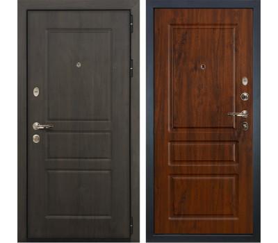 Входная стальная дверь Лекс Сенатор Винорит Винорит дуб тёмный (панель №92)