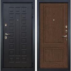 Входная дверь Лекс Гладиатор 3К Энигма-1 Орех (панель №57)