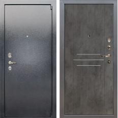 Входная дверь Лекс 3 Барк Бетон тёмный (панель №82)