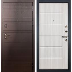 Входная стальная дверь Лекс Легион 3К Сандал белый (панель №42)