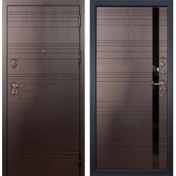 Входная стальная дверь Лекс Легион 3К Ясень шоколад (панель №31)