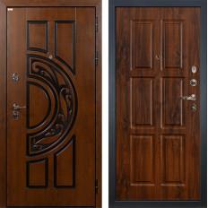 Входная дверь Лекс Спартак Cisa Винорит дуб тёмный (панель №83)