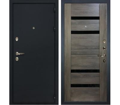 Входная стальная дверь Лекс 2 Рим Неро Графит шале (панель №65)