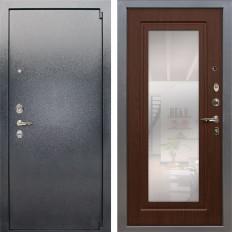 Входная дверь Лекс 3 Барк с Зеркалом Береза мореная (панель №30)