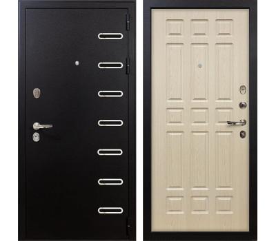 Входная металлическая дверь Лекс Витязь Дуб беленый (панель №28)