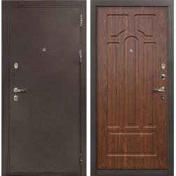 Входная стальная дверь Лекс 5А Цезарь Береза мореная (панель №26)