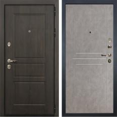 Входная дверь Лекс Сенатор Винорит Бетон серый (панель №81)