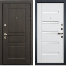 Входная дверь Лекс Сенатор Винорит Ясень белый (панель №34)