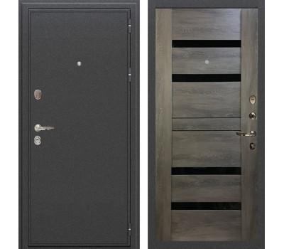 Входная стальная дверь Лекс Колизей Неро Графит шале (панель №65)