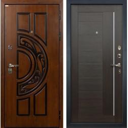 Входная стальная дверь Лекс Спартак Cisa Верджиния Венге (панель №39)