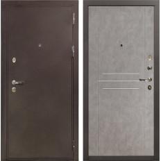 Входная дверь Лекс 5А Цезарь Бетон серый (панель №81)
