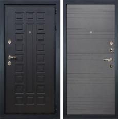 Входная дверь Лекс Гладиатор 3К Графит софт (панель №70)