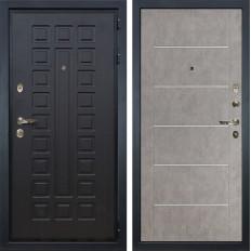 Входная дверь Лекс Гладиатор 3К Бетон серый (панель №80)