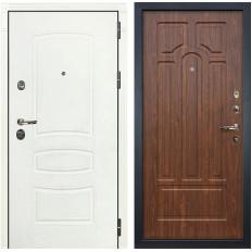 Входная дверь Лекс Сенатор 3К Шагрень белая / Береза мореная (панель №26)