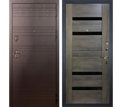Входная стальная дверь Лекс Легион 3К Неро Графит шале (панель №65)