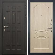 Входная дверь Лекс Сенатор 8 Дуб беленый (панель №14)