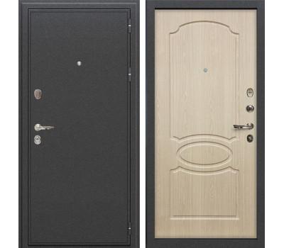 Входная стальная дверь Лекс Колизей Дуб беленый (панель №14)