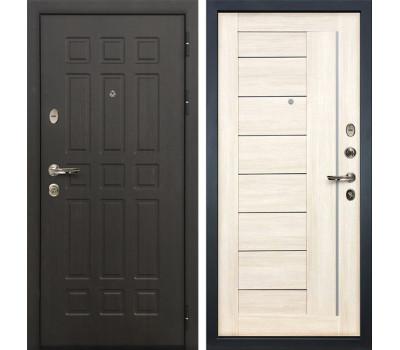 Входная металлическая дверь Лекс Сенатор 8 Верджиния Дуб беленый (панель №38)