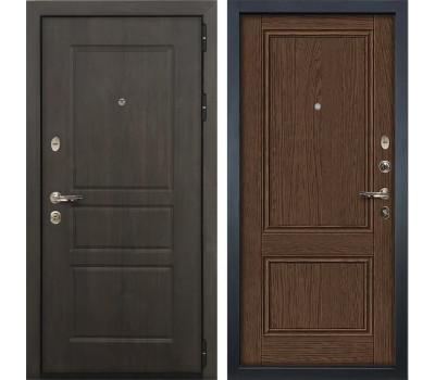 Входная стальная дверь Лекс Сенатор Винорит Энигма-1 Орех (панель №57)