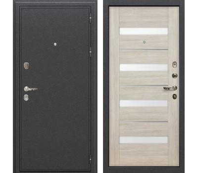 Входная стальная дверь Лекс Колизей Сицилио Ясень кремовый (панель №48)