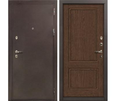 Входная стальная дверь Лекс 5А Цезарь Энигма-1 Орех (панель №57)