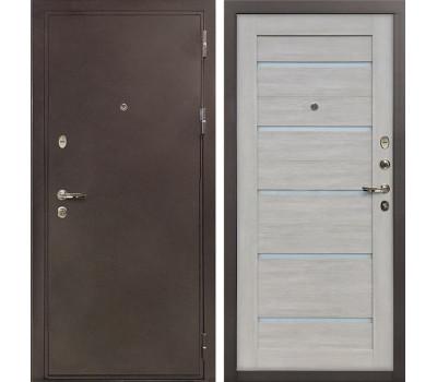 Входная стальная дверь Лекс 5А Цезарь Клеопатра-2 Ясень кремовый (панель №66)