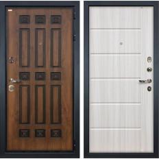 Входная дверь Лекс Гладиатор 3К Винорит Сандал белый (панель №42)