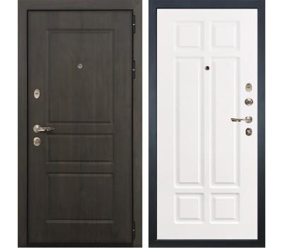 Входная стальная дверь Лекс Сенатор Винорит Софт белый снег (панель №89)
