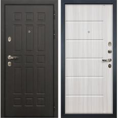 Входная дверь Лекс Сенатор 8 Сандал белый (панель №42)