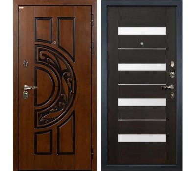 Входная стальная дверь Лекс Спартак Cisa Сицилио Венге (панель №51)