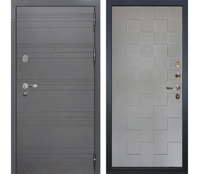 Входная дверь Лекс Легион 3К Софт графит / Софт графит Квадро (панель №72): характеристики