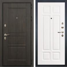 Входная дверь Лекс Сенатор Винорит Софт белый снег (панель №89)