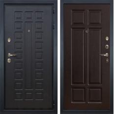 Входная дверь Лекс Гладиатор 3К Ясень шоколад (панель №88)