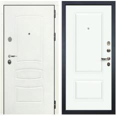 Входная дверь Лекс Легион 3К Шагрень белая / Эмаль Белая (панель №55)
