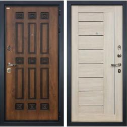 Входная металлическая дверь Лекс Гладиатор 3К Винорит Верджиния Ясень кремовый (панель №40)