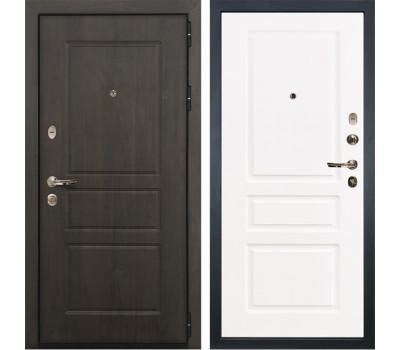Входная стальная дверь Лекс Сенатор Винорит Софт белый снег (панель №94)