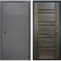 Входная дверь Лекс Сенатор 3К Софт графит / Терра Графит шале (панель №64)
