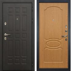 Входная дверь Лекс Сенатор 8 Дуб натуральный (панель №15)